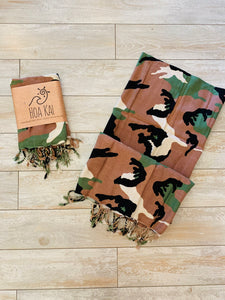 TURKISH TOWEL- CAMO