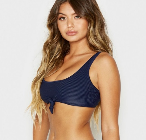 FRANKIES- GREER TOP - NAVY