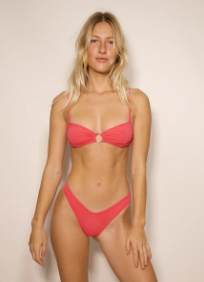CORAL X POPPY BOTTOM-VEGAS PINK