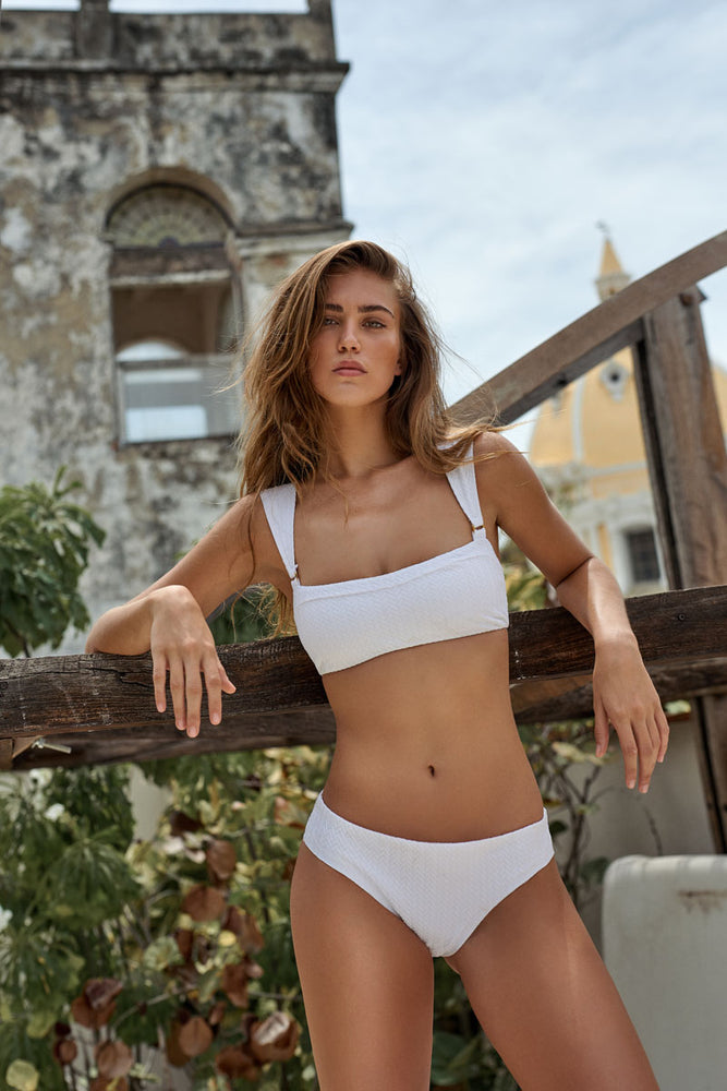 Load image into Gallery viewer, White bikini