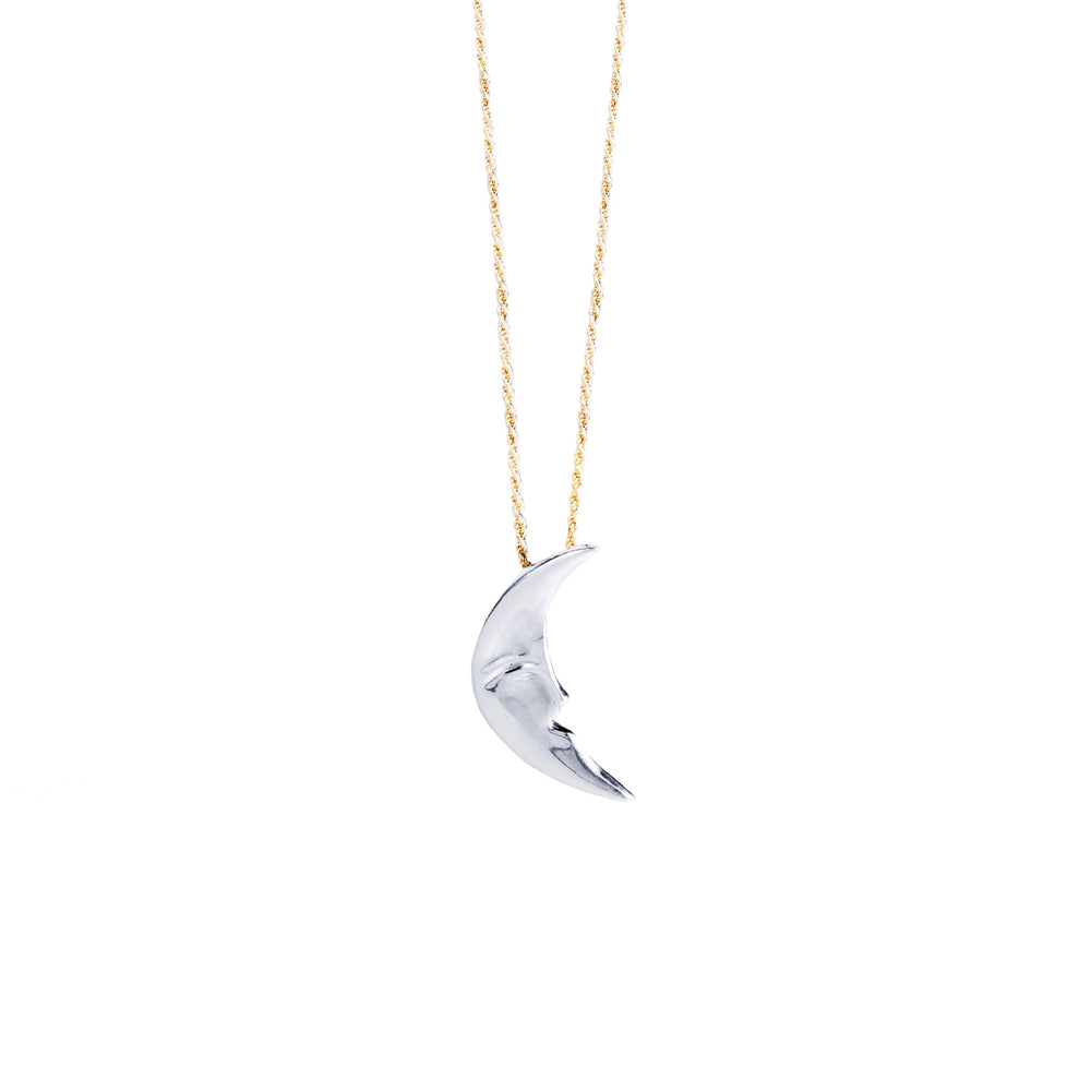 Moonface Necklace