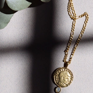 Load image into Gallery viewer, Greek Medallion Necklace