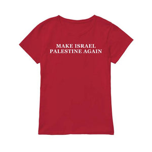 Make Israel Palestine Again Tee Shirt