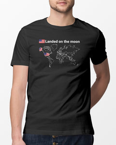landed on the moon shirt