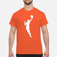 Load image into Gallery viewer, WNBA Orange T-Shirt