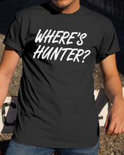 Load image into Gallery viewer, wheres hunter t shirt