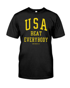 usa beat everybody t shirt