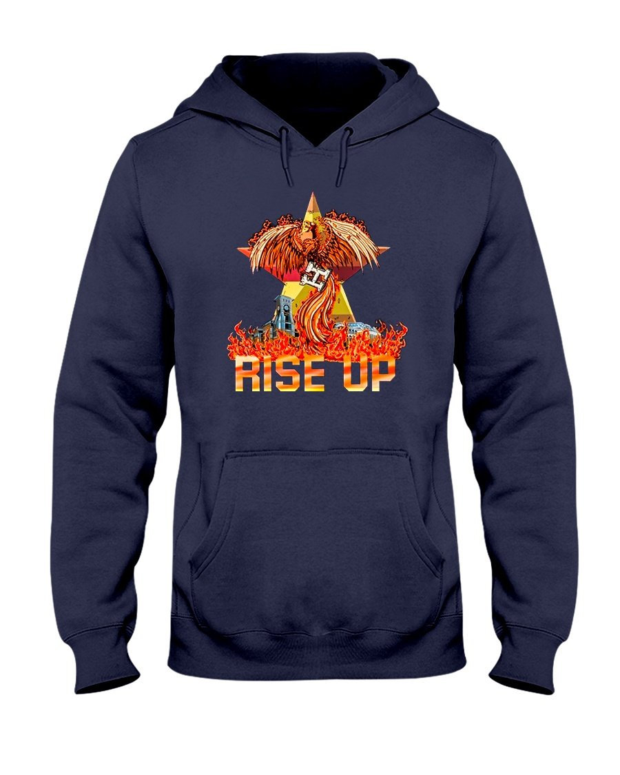 we will rise up hoodie
