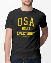 Load image into Gallery viewer, usa beat everybody t shirt