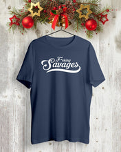 Load image into Gallery viewer, savages in the box shirt yankees