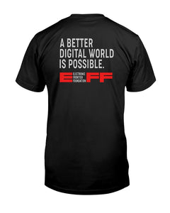 new eff membership shirt