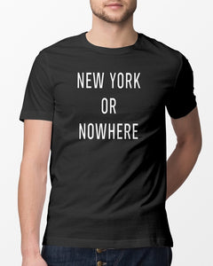 new york or nowhere shirt