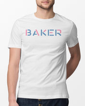 Load image into Gallery viewer, cash and maverick merch baker t shirt