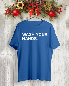 obvious wash your hands t shirt