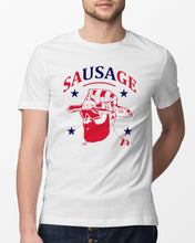 Load image into Gallery viewer, anthony sherman sausage t shirt