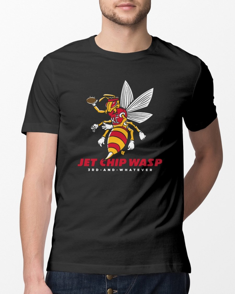 jet chip wasp t shirt