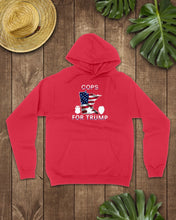 Load image into Gallery viewer, cops for trump hoodie