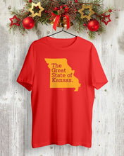 Load image into Gallery viewer, the great state of kansas t shirt