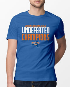 Syracuse Mets 2020 Undefeated Champions Shirt