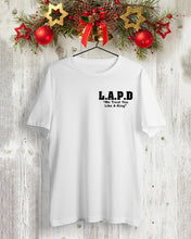 Load image into Gallery viewer, philadelphia's acting police LAPD t shirt