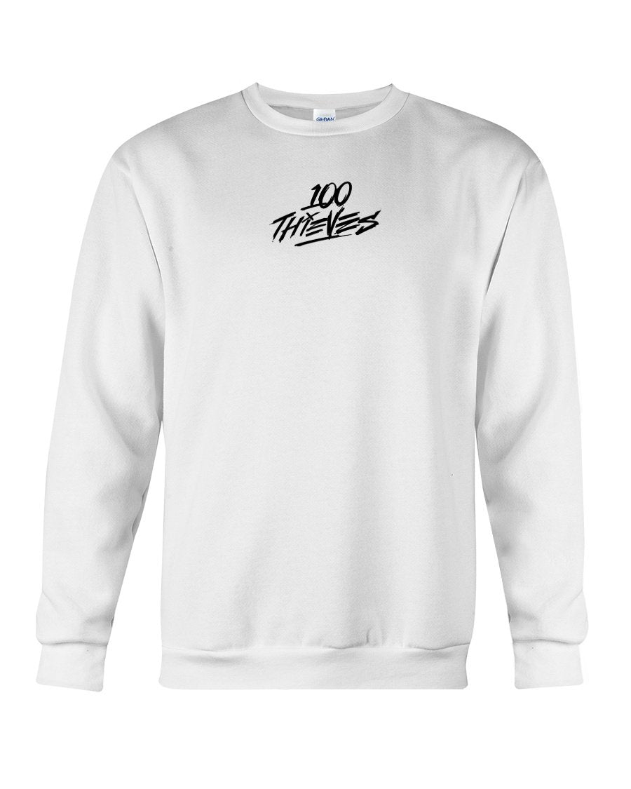 100 thieves cream sweatshirt