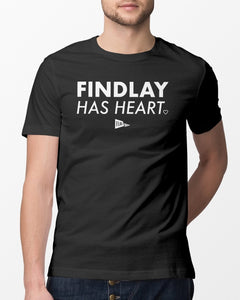 findlay has heart t shirt