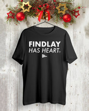 Load image into Gallery viewer, findlay has heart t shirt