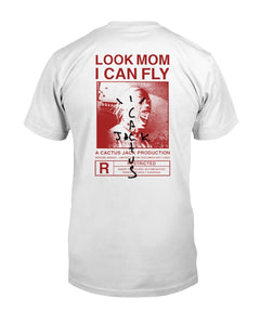 travis scott look mom i can fly t shirt