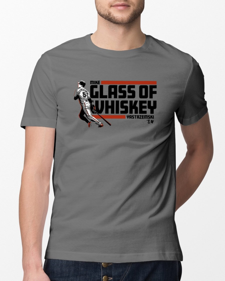 glass of whiskey t shirt