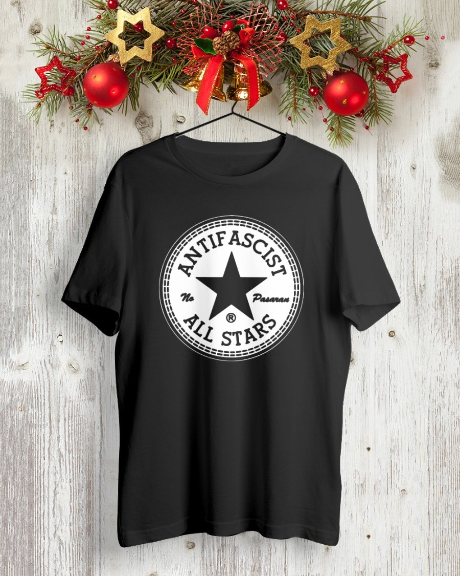 antifascist all stars t shirt