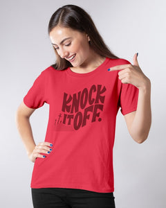 knock it off t shirt