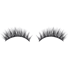 Aurora faux mink eyelash by First Class Beauty Co natural strip lash