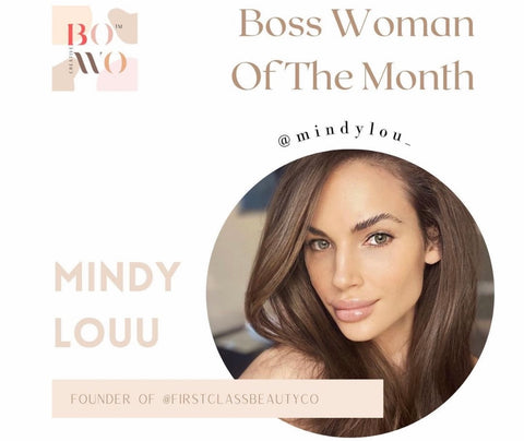 boss woman of the month first class beauty co founder mindy louu