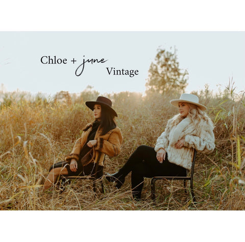 chloe + june vntg apparel slow fashion brand vancouver