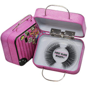 the best vegan mink lashes in custom eyelash case with your name first class beauty co