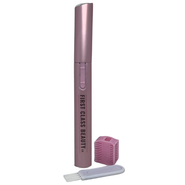 electric eyebrow trimmer pink by first class beauty co
