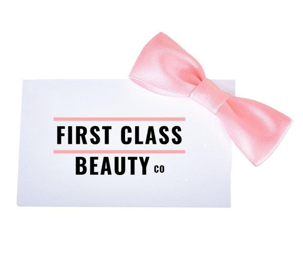 First Class Beauty Co Gift  cruelty free gifts  for her gift guide