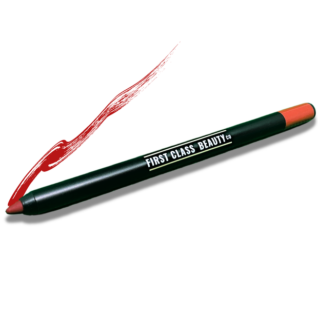 fire engine red lip liner add your name free shipping first class beauty co