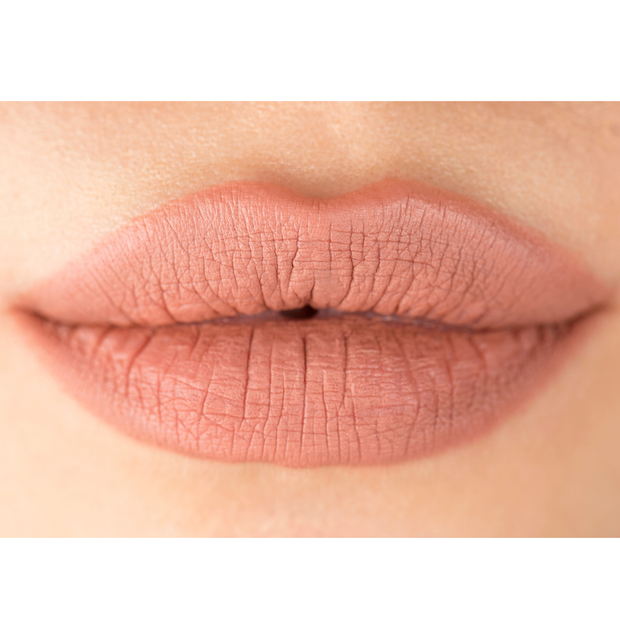 nude lip liner and nude lipstick