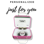 personalized eyelash case by first class beauty co