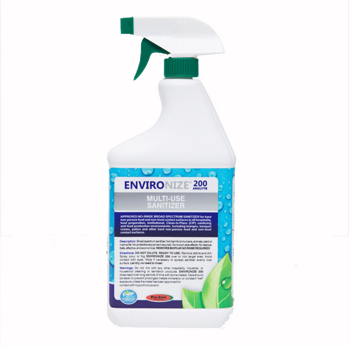 Multi-use sanitizer 200 with trigger sprayer
