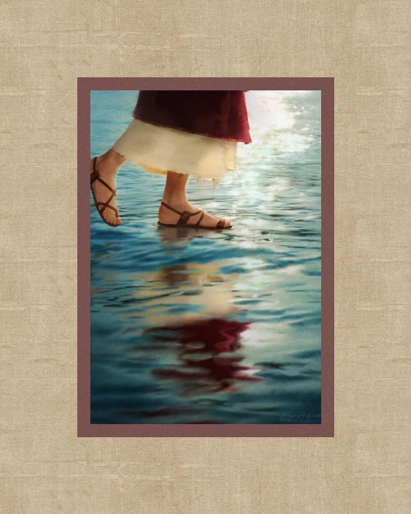 Where Jesus Walked - 8x10 mat
