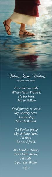 Where Jesus Walked - Bookmark