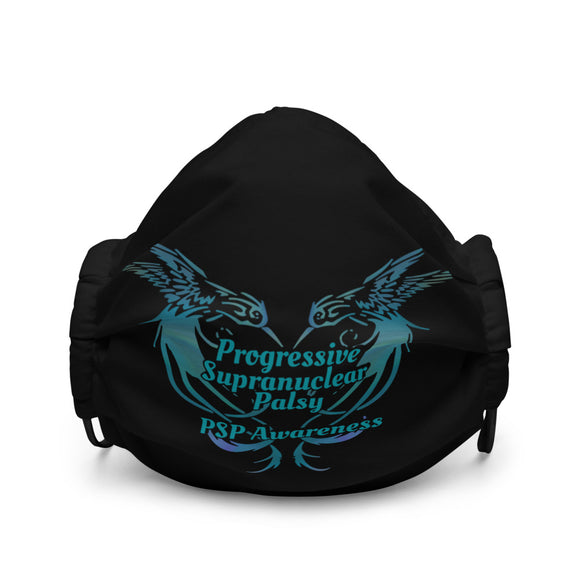 Progressive Supranuclear Palsy Awareness Face Mask