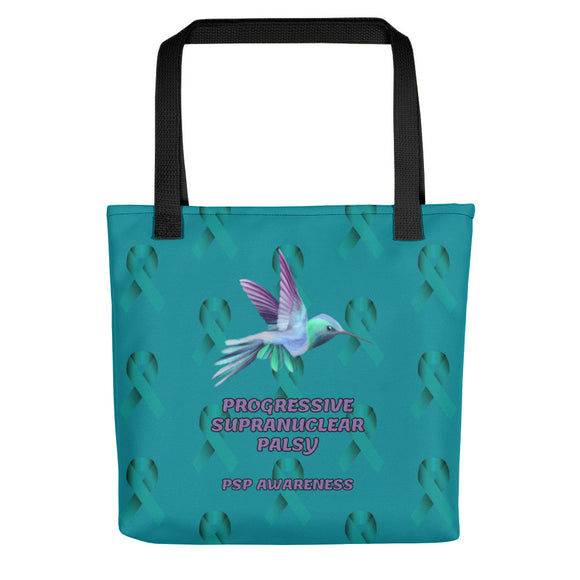 PSP Progressive Supranuclear Palsy Awareness Tote bag