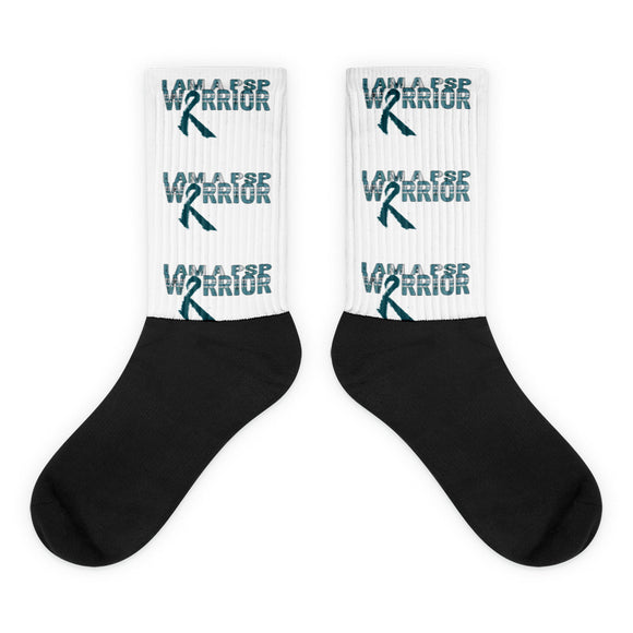 Progressive Supranuclear Palsy Awareness Socks