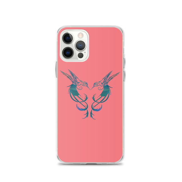 PSP Two Hummingbirds iPhone Case