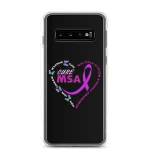 Cure MSA Multiple System Atrophy Awareness Samsung Phone Cases