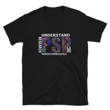 Understand Research Cure PSP Progressive Supranuclear Palsy Tee for Women, Men