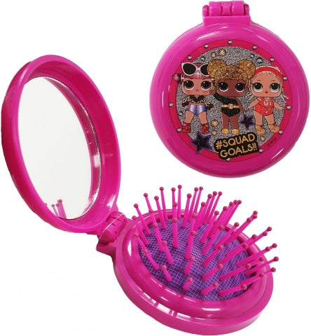 Pop Up Hair Brush & Mirror ~ LOL Surprise Dolls